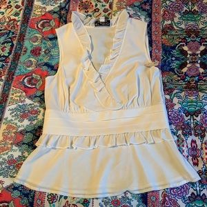 Women's St. John silk blouse